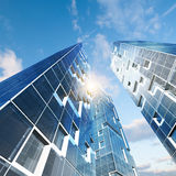 Abstract building Stock Photography