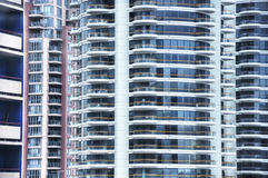 Abstract buildings Stock Image