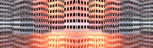 Abstract buildings banner Stock Image