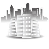Abstract buildings Royalty Free Stock Image