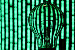 Abstract Bulb Stock Photo