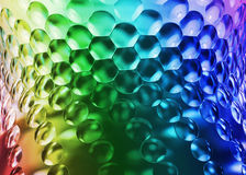 Abstract bulging background. Abstract colorful background with protruding texture Royalty Free Stock Photos