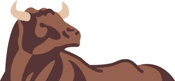 Abstract Bull Stock Photography
