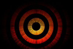 Abstract bullseye background Stock Images