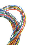 Abstract bunch of colored wires Stock Image