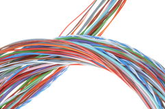 Abstract bunch of colored wires Stock Photos
