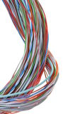 Abstract bunch of colored wires Royalty Free Stock Images