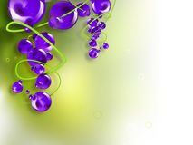 Abstract bunch of grapes Royalty Free Stock Images
