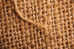 Abstract burlap backgound Royalty Free Stock Images