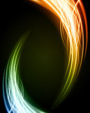 Abstract burn flame fire. Vector background Stock Photos