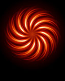 Abstract burn fractal. Vector background Stock Photos