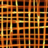 Abstract burning fire flame background in shape of grid for your design Stock Images