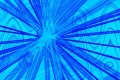 Abstract burst. A computer generated design Royalty Free Stock Photo