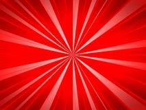 Abstract burst background with red color. Abstract burst background and wallpaper for product presentation with red line and color royalty free illustration