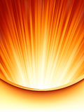 Abstract burst card Template. EPS 8 Royalty Free Stock Photo