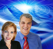 Abstract business. Business team Royalty Free Stock Image