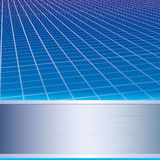 Abstract business background. Abstract business blue grid background Stock Photos