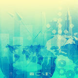 Abstract business background. As vintage style concept Royalty Free Stock Photography