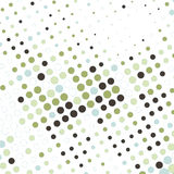Abstract business background with colorful dots. Illustration vector illustration