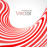 Abstract business background with 3d lines. Vector Royalty Free Stock Photography