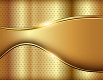Abstract business background gold Stock Image