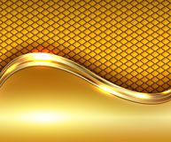 Abstract business background gold Stock Photography