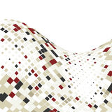 Abstract business background with mosaic tiles. Illustration royalty free illustration