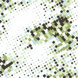 Abstract business background with mosaic tiles. Illustration Royalty Free Stock Image