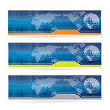 Abstract business banner set Stock Image