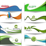 Abstract Business Banner Template Stock Photography