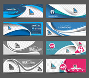 Abstract Business Banner Template Royalty Free Stock Photography