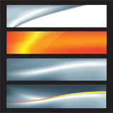 Abstract business banners Stock Images