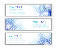 Abstract business banners Royalty Free Stock Photo