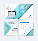 Abstract business brochure, booklet, flyer and cover design layo Royalty Free Stock Photo