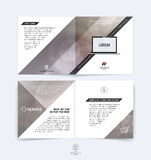 Abstract business brochure, booklet, flyer and cover design layo Royalty Free Stock Photography