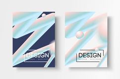 Abstract business Brochure design vector template in A4 size. Document cover. Abstract business Brochure design vector template in A4 size. Document or book Stock Photography