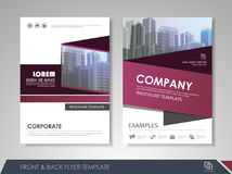 Abstract business brochure Royalty Free Stock Image
