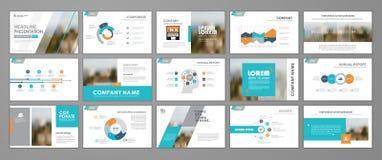 Abstract business brochure set Vector Illustration