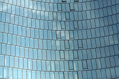 Abstract business building. Background in color stock image