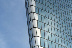 Abstract business building background. In color stock image