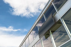Abstract business building interior Royalty Free Stock Photography