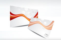 Abstract business card Stock Image