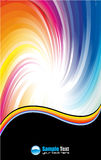 Abstract Business Card backgrounds for flyers. Colorful Abstract Business Card backgrounds for flyers and covers Stock Images