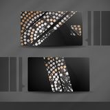 Abstract Business Card Designs. Royalty Free Stock Image