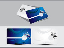 Abstract business card template royalty free illustration