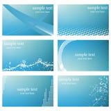 Abstract business card templates. A vector illustration of abstract Business card templates Stock Photos