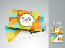 Abstract business card for your company. Royalty Free Stock Image