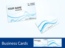 Abstract business cards Stock Images