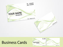 Abstract business cards Stock Image