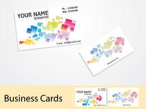 Abstract business cards Royalty Free Stock Photo